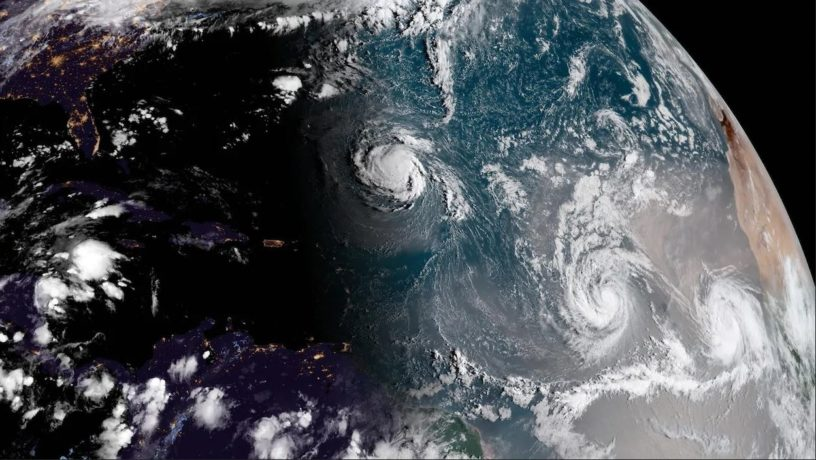 Ouragans sur l'Atlantique Nord